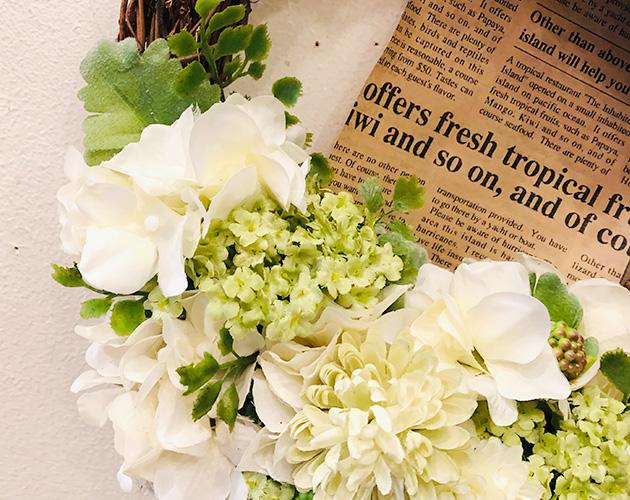 思わず生花と見間違える、高品質なクオリティーが自慢です。